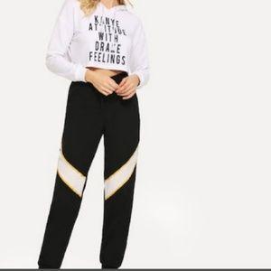 Pants - Striped Lightweight Joggers